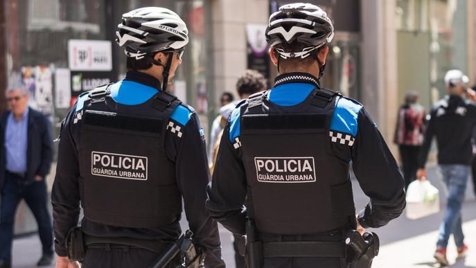 Imatge d'arxiu de la Guàrdia Urbana de Lleida