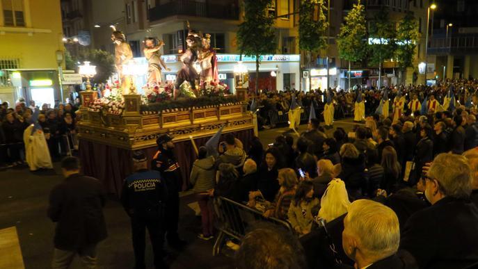 Els misteris de la Passió de Crist recorren els carrers de Lleida