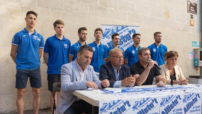 El Lleida Llista presenta la seva campanya de captació de socis, 'Allista't'