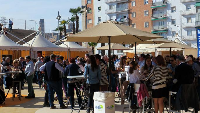 La Festa del Vi de Lleida supera els 4.000 visitants i les 12.000 racions
