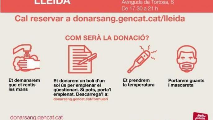 S'amplia la campanya de donació de sang a La Llotja