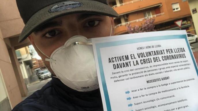 La xarxa solidària de Lleida atén 300 demandes amb 670 voluntaris