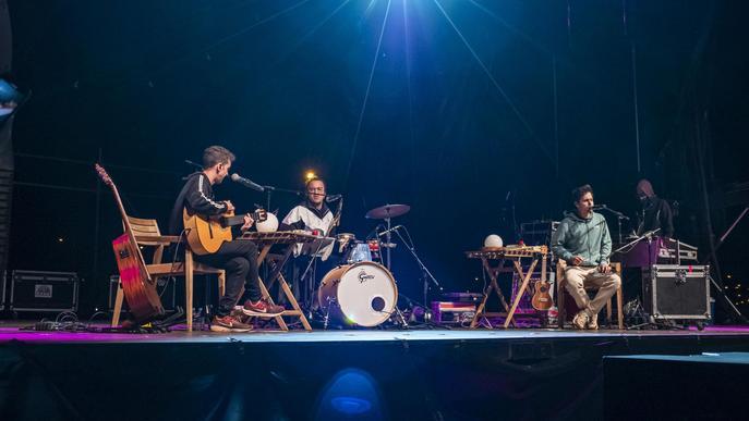 La música, la gran protagonista del segon dia de les Festes de la Tardor