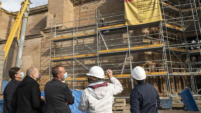 La Seu Vella aprova el pressupost del 2021 que contempla la restauració de les muralles del Baluard del Rei i fer-les visitables