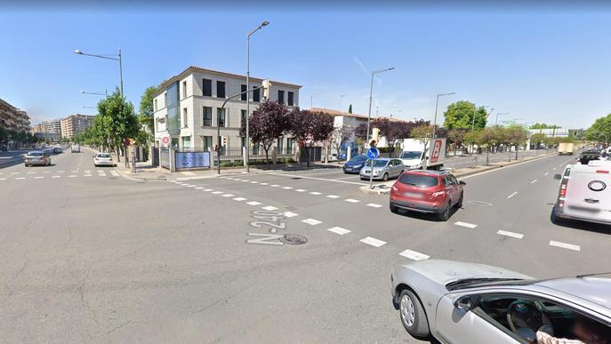 Ampliació i millora del carril bici al Passeig de Ronda de Lleida