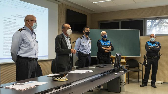 Lleida incorpora quatre agents cívics i ja compta amb setze efectius
