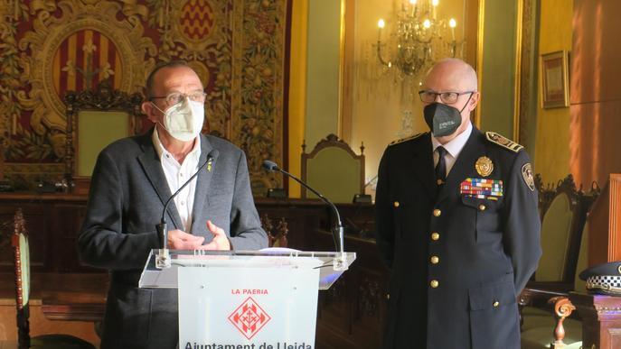 La pandèmia ajuda a rebaixar més d'un 30% els accidents de trànsit a Lleida ciutat