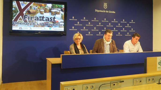 Tastets gastronòmics i exposició de plats elaborats pels veïns d'Almenar a la 10a Fira del Tast