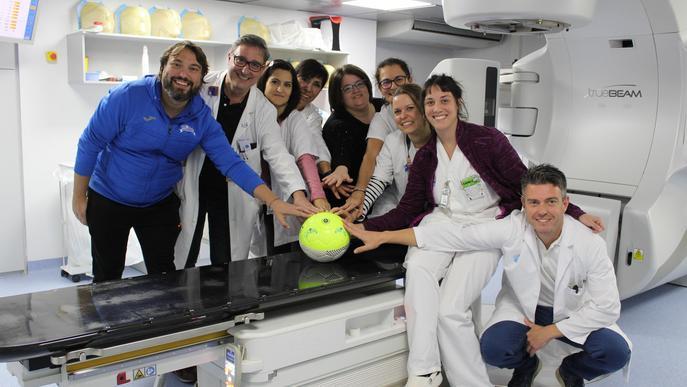 Partits de futbol solidaris amb el Servei d'Oncologia Radioteràpica de l'Arnau de Vilanova