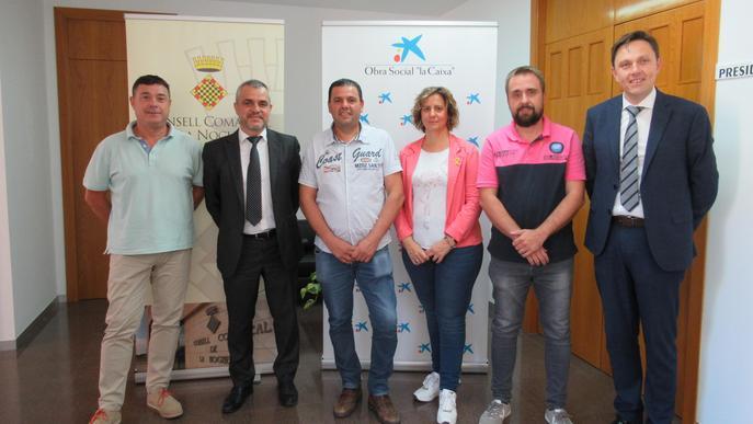 """El Consell de la Noguera i l'Obra Social """"la Caixa"""" renoven el conveni de col·laboració"""
