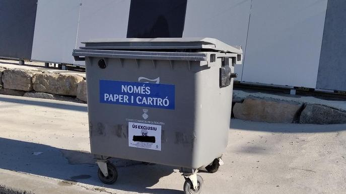 La Noguera engega un servei de recollida de cartró i paper a diferents polígons de la comarca
