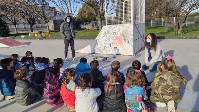 El Palau d'Anglesola inaugura un parc dedicat als seus infants i adolescents