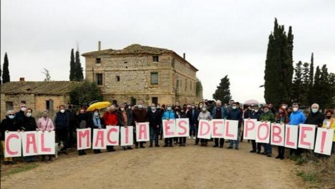 ⏯️ Exigeixen a l'Ajuntament d'Alcarràs la compra de la casa del president Macià a Vallmanya