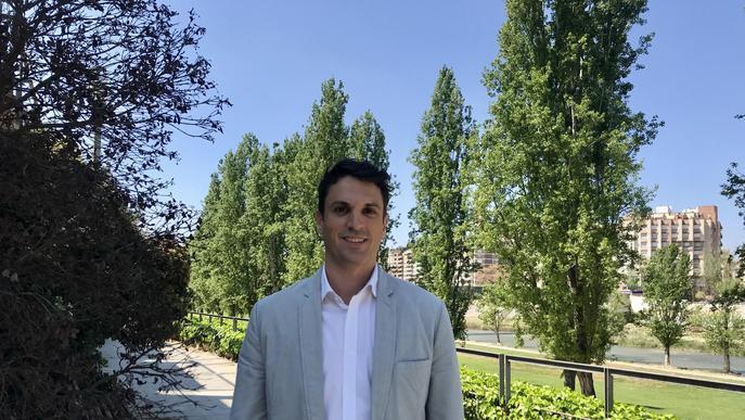 """Dante Pérez: """"A Lleida hi sobra el nacionalisme i hi falta més orgull lleidatà"""""""