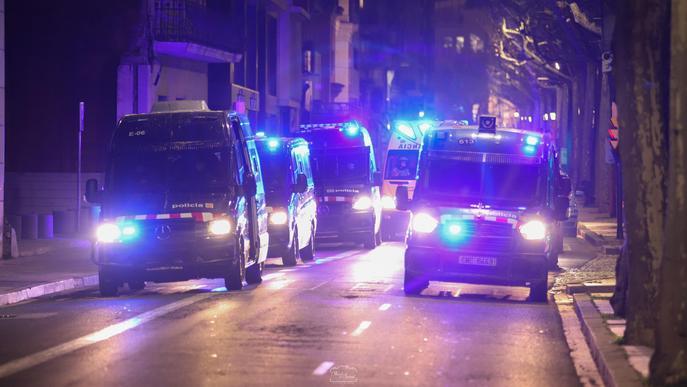 ⏯️ Més de 400 persones tornen a sortir als carrers de Lleida contra l'empresonament de Hasel