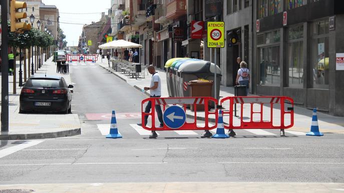 La Paeria amplia la vianalització de carrers els caps de setmana