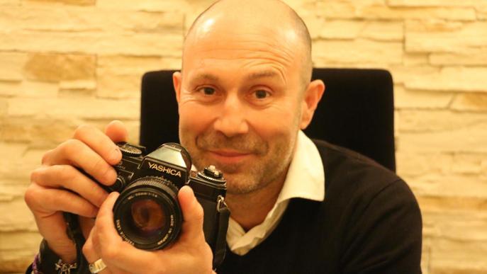 """Rafa Ariño: """"La foto neix al cap, només quan la tens clara la poses a la càmera"""""""