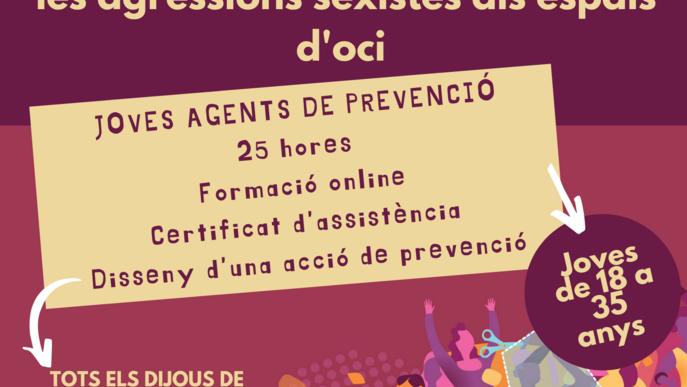 Formació d'Agents de Prevenció de violències sexuals a les Garrigues