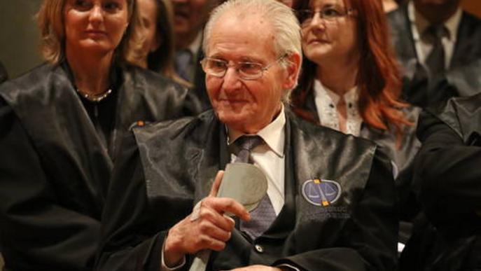 Mor Jaume Culleré, primer president de la Diputació de la democràcia