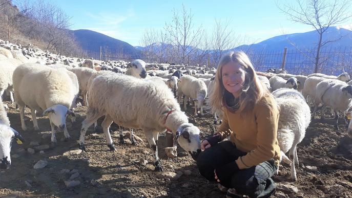 """Estel Forcada: """"Volem apropar la gent al món rural i ramader a través de l'ovella Xisqueta"""""""