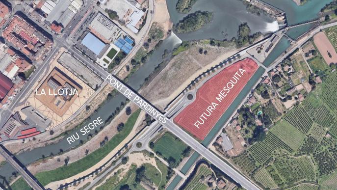 El terreny comprat per la comunitat musulmana vora el pont de Pardinyes no és apte per construir-hi una mesquita