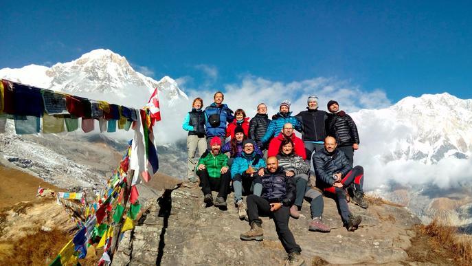 Del gimnàs a l'Annapurna, una experiència emocional que enganxa