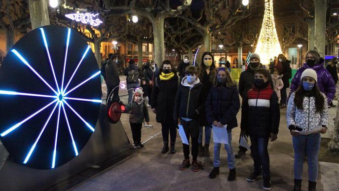 Tàrrega estrena el seu nou cicle d'activitats familiars de Nadal