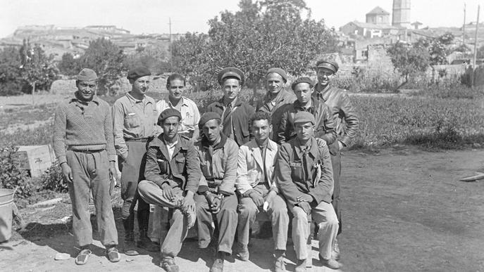 Membres de les Brigades Internacionals