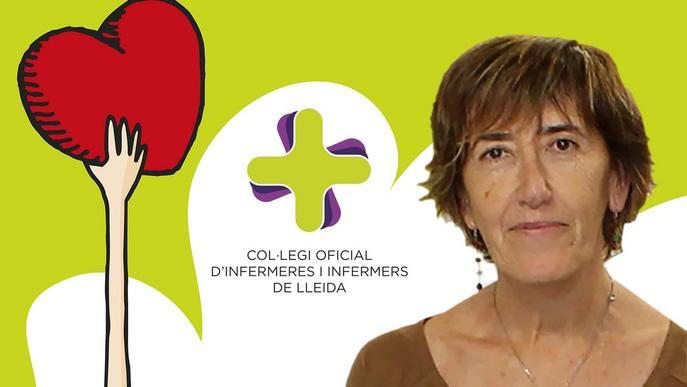 Mercé Porté, nova presidenta d'Infermeres de Lleida