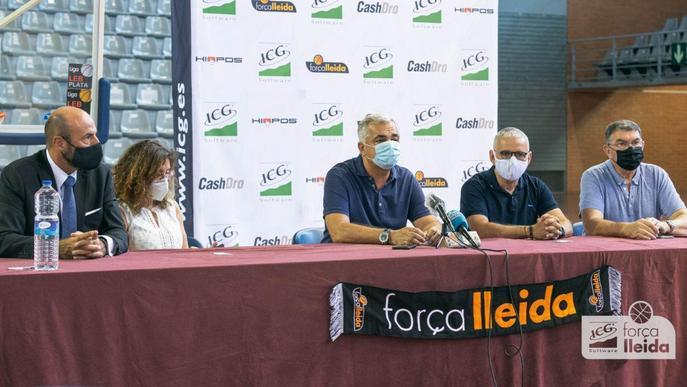 ⏯️ El Força Lleida presenta el seu nou projecte