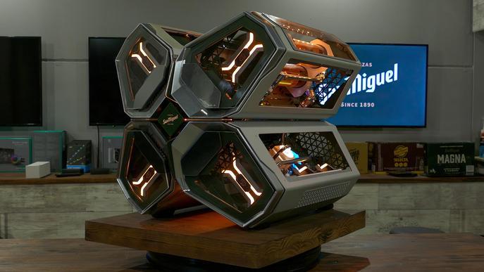 Una empresa lleidatana crea un ordinador inspirat en en una fàbrica de cerveses futurista perquè els gamers inquiets continuïn superant-se