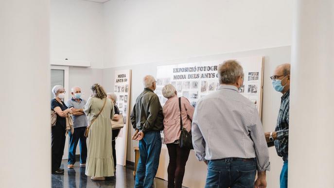 La mostra 'Textures i lectures' que impulsa el Consell Comarcal del Segrià fa escala a Aitona