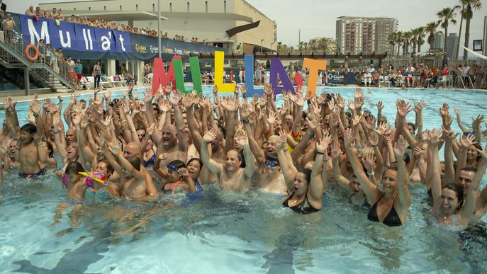 """""""Mulla't per l'esclerosi múltiple"""" se celebrarà a prop de 150 piscines del país"""