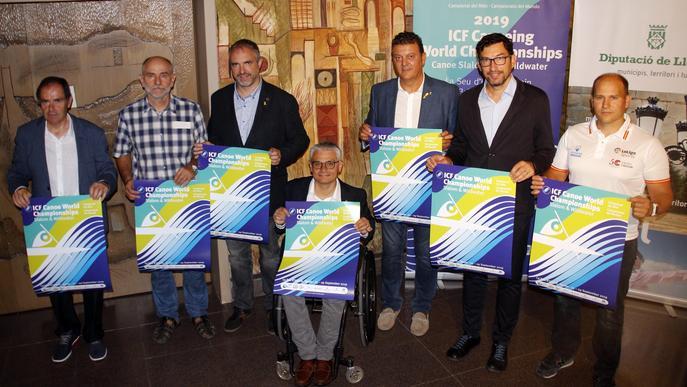 La Seu d'Urgell acull per tercer cop el Mundial de Canoe Slalom i Descens, classificatori per als Jocs de Tòquio 2020