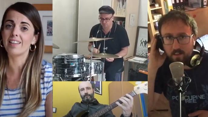 L'escola Músics de Lleida dedica una versió d'Stand by Me al seu alumnat
