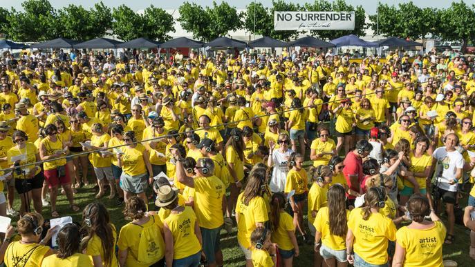 Rècord de públic a la segona edició del 'No Surrender Festival'