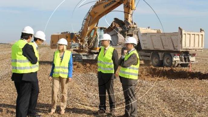 Comencen les obres de 6 quilòmetres d'autovia entre Lleida i Rosselló