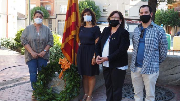 Una vintena d'entitats participen a l'acte institucional de la Diada a Tàrrega, que s'adapta als protocols sanitaris