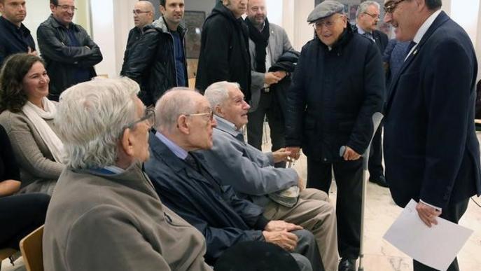 Commemoració dels 79 anys del bombardeig del Liceu Escolar