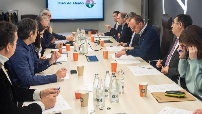 Constitució del nou Patronat de la Fundació Fira de Lleida