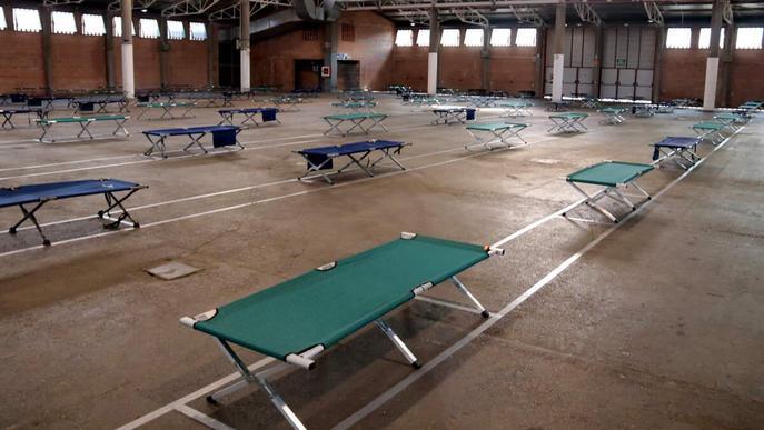 Els pavellons dels Camps Elisis tancaran el servei d'acollida després d'oferir 14.500 pernoctacions