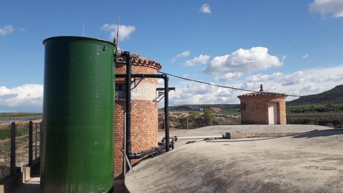 Nova estació de tractament d'aigua potable a Castelldans