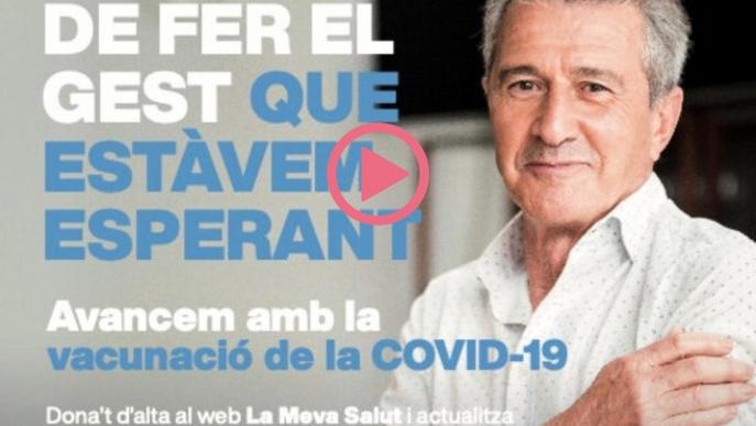 ⏯️ La campanya de Salut per fomentar la vacunació contra la covid-19