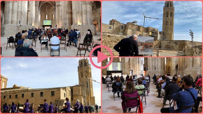 ⏯️ La Seu Vella de Lleida celebra la seva festa anual adaptada a la pandèmia