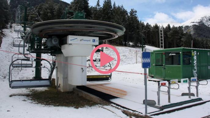 ⏯️ FGC aclareix quan preveu obrir estacions d'esquí