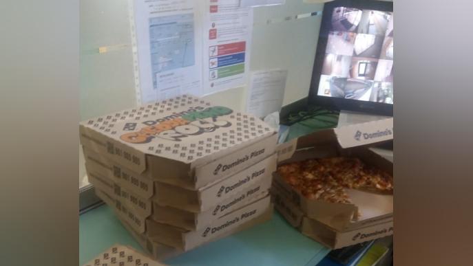 Pizzes gratis per al personal sanitari que lluita contra el coronavirus a Lleida