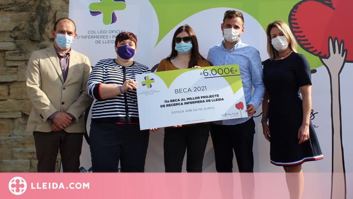 Un treball sobre el desplegament de la Llei de l'Eutanàsia a Lleida guanya l'11a Beca al Millor Projecte de Recerca