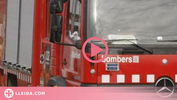 Els bombers sufoquen un incendi al Segrià