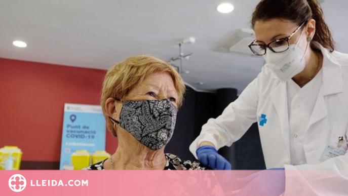 El 90% dels majors de 80 anys ja tenen la primera dosi de la vacuna