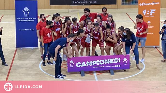 El CB Lleida, campió de la Copa Catalunya de bàsquet femení